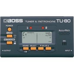 BOSS TU80 Tuner/Metronomo