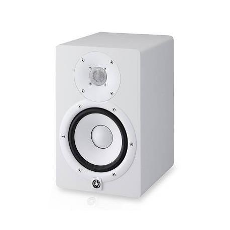 YAMAHA HS5 Cassa Monitor a studio bianca