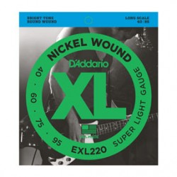 D'ADDARIO EXL220 40-95 Long Scale