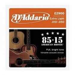 D'ADDARIO EZ900 American Bronze 10-50