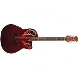 OVATION APPLAUSE AE44-Ruby Red ELITE EX DEMO