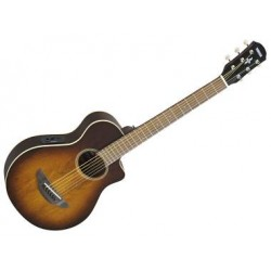 YAMAHA APXT2EW Tobacco Brown Sunburst