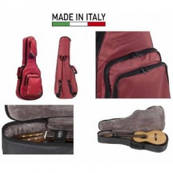 STEFY CX202 Custodia Chitarra Folk Red