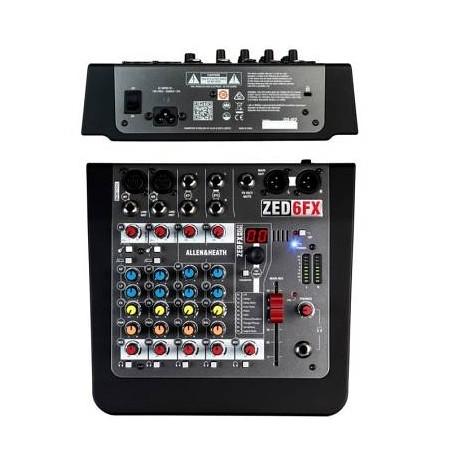 ALLEN & HEATH ZED 6FX Mixer 6 canali con effetti