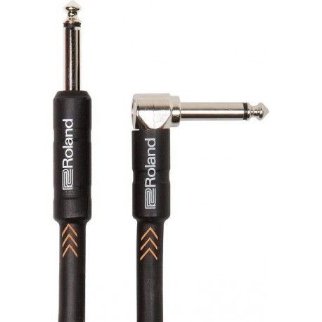 ROLAND RICB10A Instrument Cable 3mt Angled/Straight