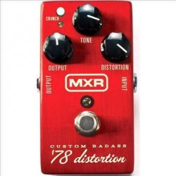 DUNLOP MXR M78 BADASS DISTORTION