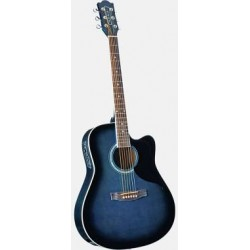 EKO NXT 018CW EQ Blue Sunburst