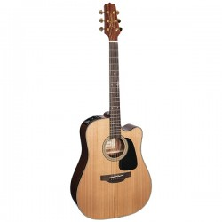 TAKAMINE PS2DC Chitarra Ac/El Pro Selected Series Natural