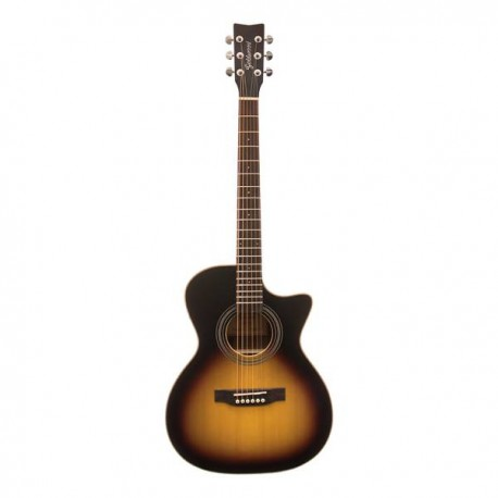 GOLDWOOD PS-GACE Chitarra Ac/El Grand Auditorium Sunburst