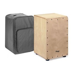STAGG CAJON 50M Natural con borsa