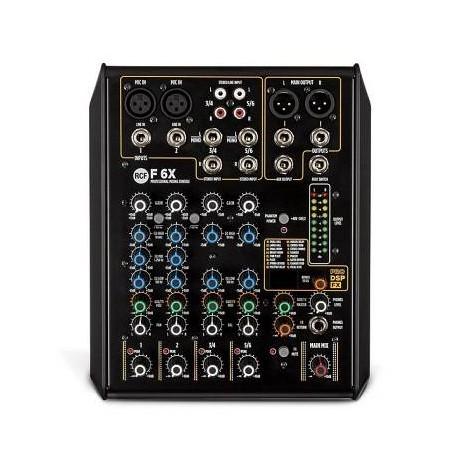 RCF F6X Mixer 6ch con DSP