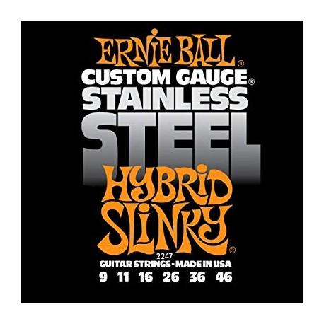 ERNIE BALL 2247 Stain Steel 9-46