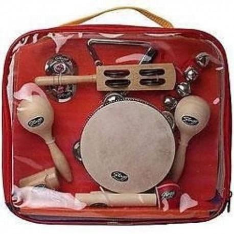STAGG CPK 01 Valigetta didattica percussioni